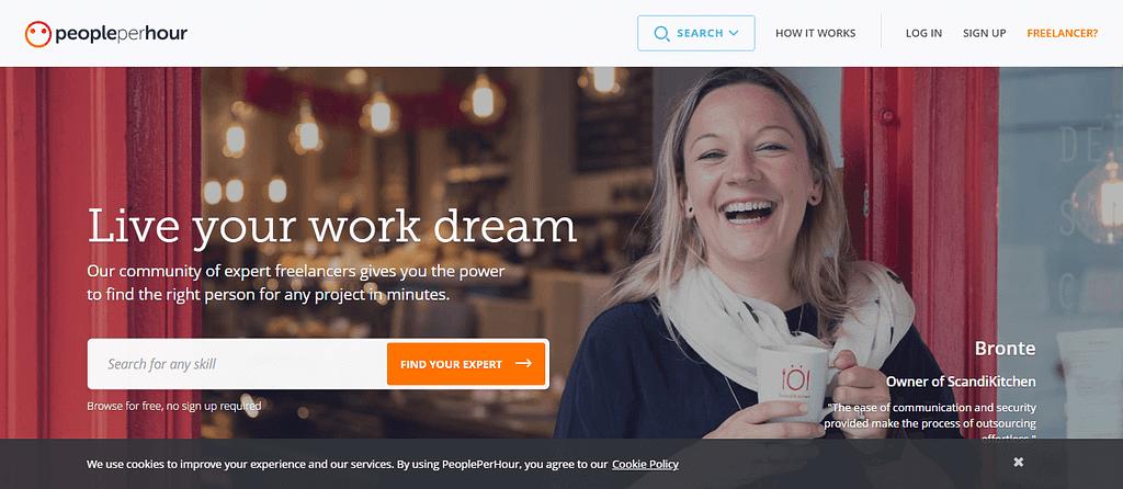 PeoplePerHour com Hire Freelancers Online Find Freelance Work 1