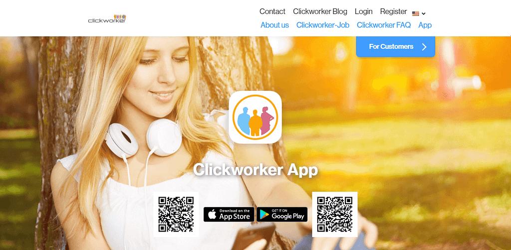 Clickworker App clickworker com 1