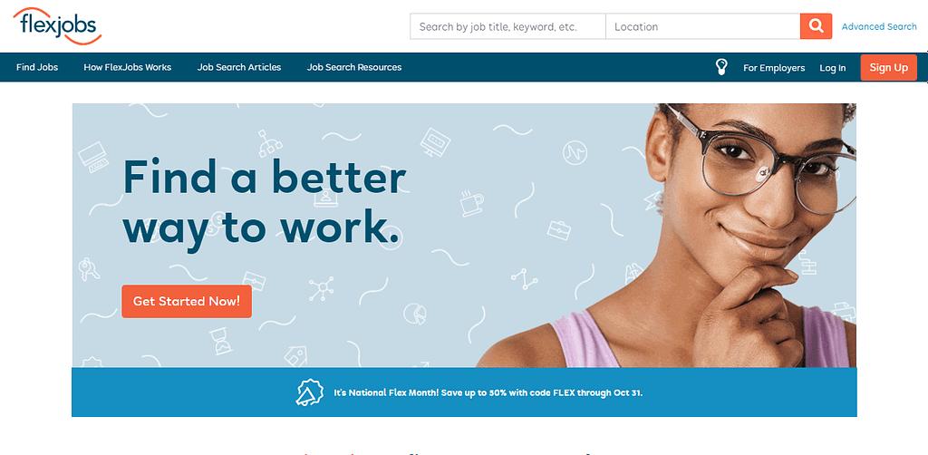 flexjobs - Best Data Entry Jobs websites