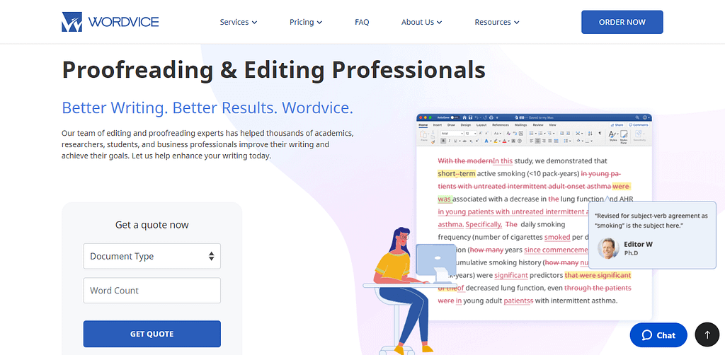 Professional Proofreading Editing Services Wordvice 1