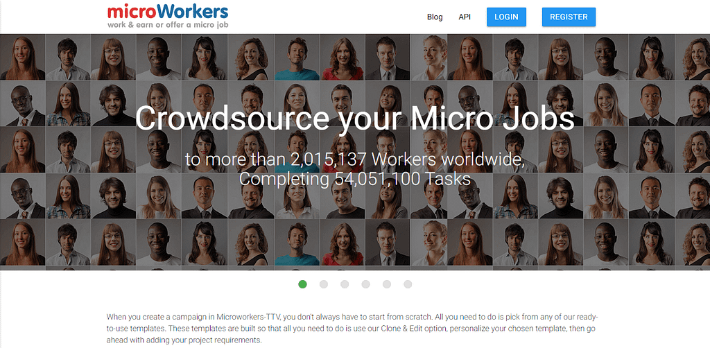 Templates Microworkers work earn or offer a micro job 1