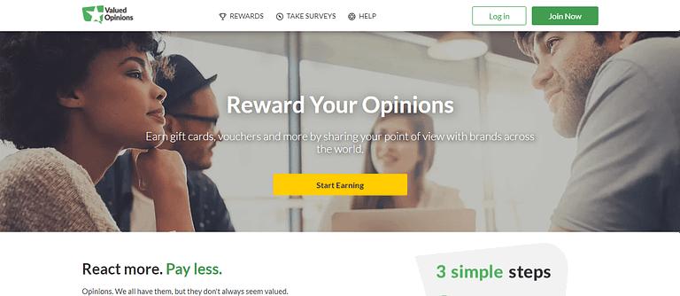 Online Surveys Paid Surveys Online Valued Opinions India