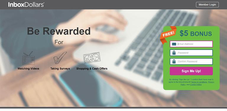 InboxDollars Make Extra Money Online From Home