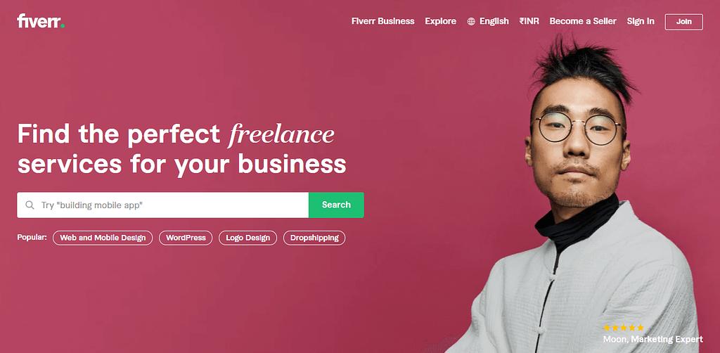 Fiverr Freelance Services Marketplace for Businesses 1