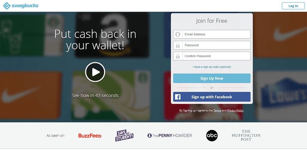 swagbucks -best paying apps