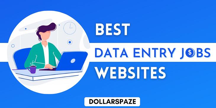 best data entry jobs websites
